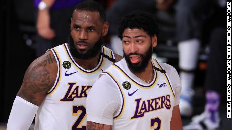 Anthony Davis เป็นดาราที่โดดเด่นของ Lakers นับตั้งแต่เขาเข้าร่วมจาก New Orleans Pelicans ในเดือนกรกฎาคม 2019