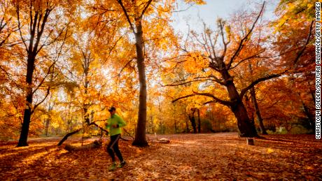 It's a beautiful time of year to get more exercise.
