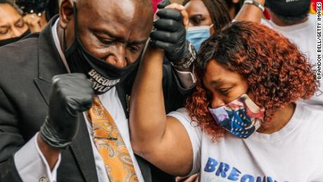 Weeping resounded from the room where Breonna Taylor's mother learned the grand jury's decision