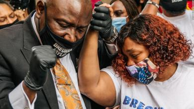 There was 'a lot of sadness and weeping' after grand jury decision not to charge officers with killing Breonna Taylor
