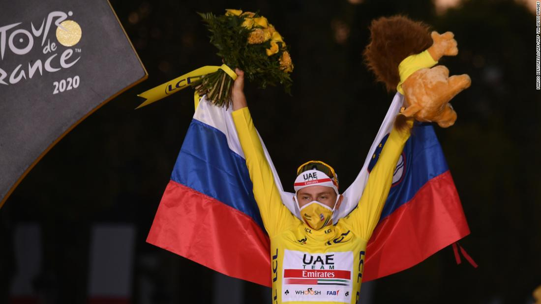 Photo of Tadej Pogacar wins Tour de France to make history for Slovenia