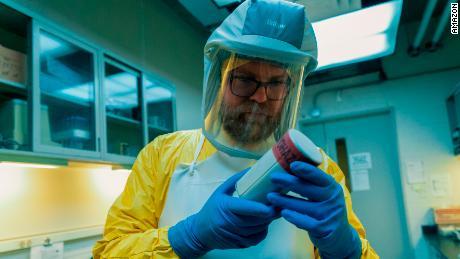 Rainn Wilson in 'Utopia.'