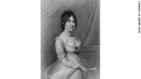 Former first lady Dolley Madison.