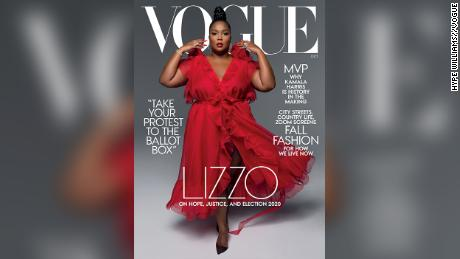 Lizzo is Vogue's October cover girl