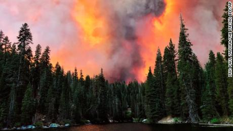 California's largest single wildfire spawned two massive firenados -- one was an EF2