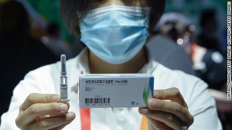 ผู้ได้รับวัคซีนโคโรนาไวรัส 2 รายจาก China National Biotec Group (CNBG) อยู่ในการทดลองทางคลินิกระยะที่ 3