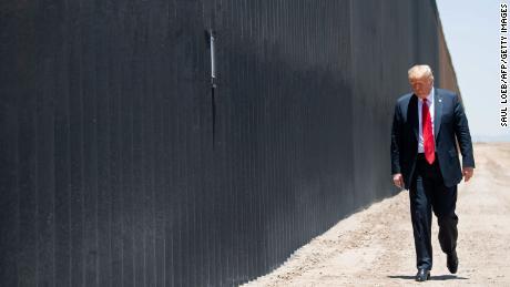 More than 80 miles of border wall may be painted black after Trump push