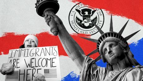 Trump's border wall vs Biden's focus on asylum