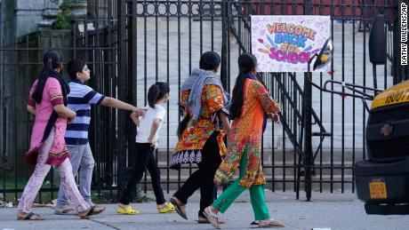 NYC elementary schools reopen for in-person classes, but new outbreaks could change that