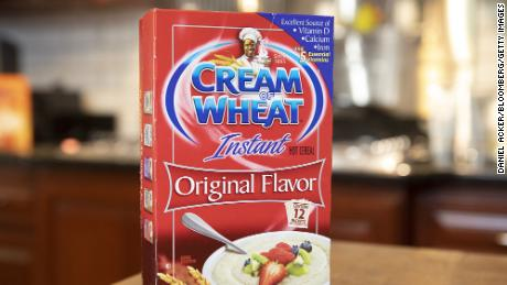 A box of Instant Cream of Wheat is arranged for a photograph in Tiskilwa, Illinois, U.S., on Sept. 24, 2020.