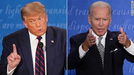 Trump unleashes avalanche of repeat lies at first presidential debate