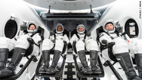 NASA astronauts can't wait to leave Earth for SpaceX mission