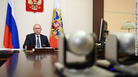 Russian President Vladimir Putin announced the vaccine on a video conference call with government officials.