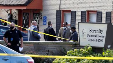 ,000 reward offered for information on shooting at a Milwaukee funeral home