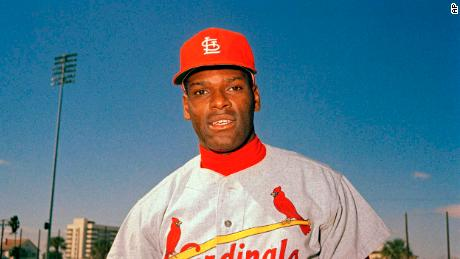 St. Louis Cardinals pitcher Bob Gibson is pictured during spring training, March 1968