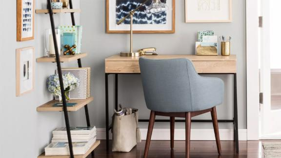 Project 62 Loring Wood Writing Desk With Drawers