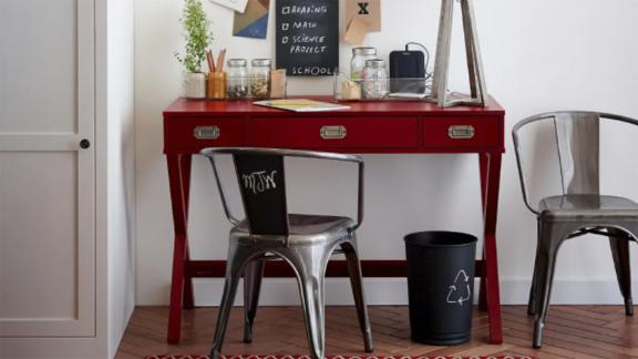 Threshold Campaign Wood Writing Desk With Drawers