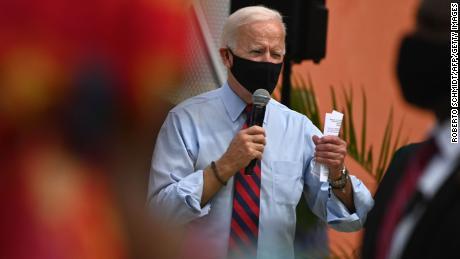 Biden says he is not a