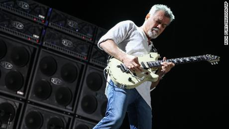 Eddie Van Halen, master of the electric guitar, died Tuesday.