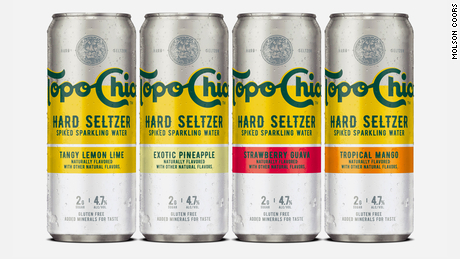 A first look at Topo Chico's new spiked seltzer selection.