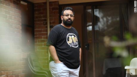 Jitarth Jadeja, 32, found QAnon in 2017. He spent two years entrenched in the virtual cult. His biggest regret? Sharing the conspiracy theory with his father. (Bill Code for CNN Business)
