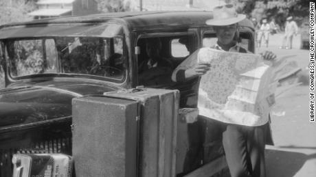 """""""Driving while Black was always unsafe,"""" said Smithsonian curator Fath Davis Ruffins in the film. """"Yet by the same token, millions of African Americans did it."""""""