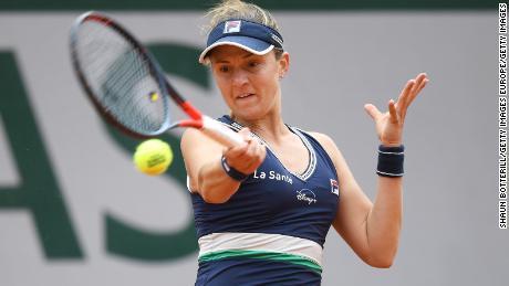 Podoroska มีความสุขกับการโลดแล่นที่ Roland Garros