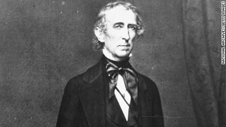 John Tyler was part of the Whig Party ticket in 1840.