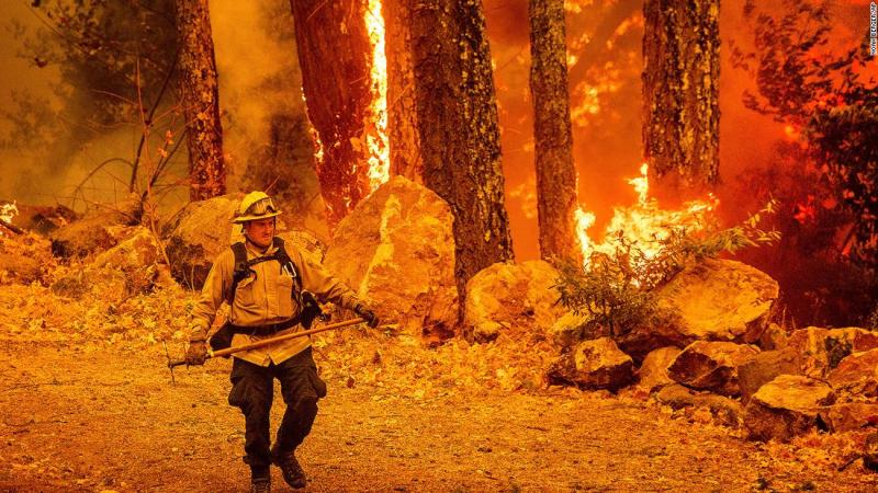 California's record-breaking wildfires consume nearly 1 million acres in a month