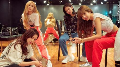 Blackpink members Jisoo, Rosé, Jennie and Lisa (Courtesy YG / Netflix).