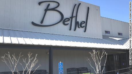 Bethel Church in Redding, California. One of its leaders has shared QAnon ideas on social media.