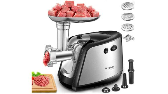 Aobosi 3-in-1 Meat Mincer & Sausage Stuffer
