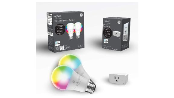 C by GE Smart LED Bulbs + Smart Plug Bundle