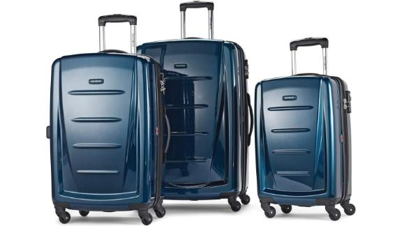 Get this 3-piece Samsonite luggage set for more than 50% off during Prime Day.