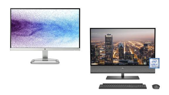 HP Monitors and Desktops