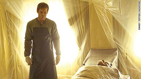 "Michael C. Hall stars in ""Dexter."""