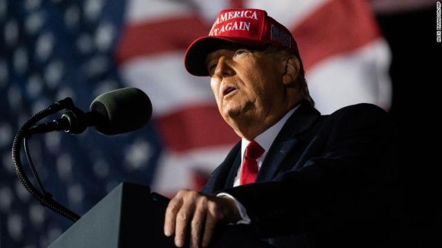Trump continues bizarre appeals to suburban women as he campaigns in Covid hotspots
