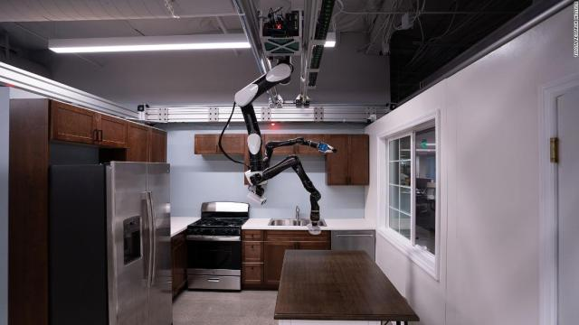 Toyota Research Institute (TRI) is developing human-assist robots in its labs in California. This