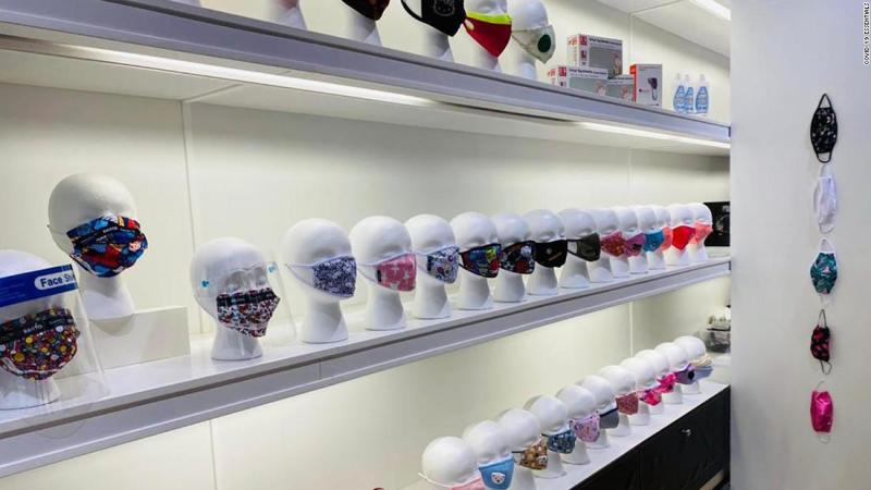 A mask startup is rapidly expanding into empty mall stores