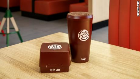 Burger King's new reusable packaging