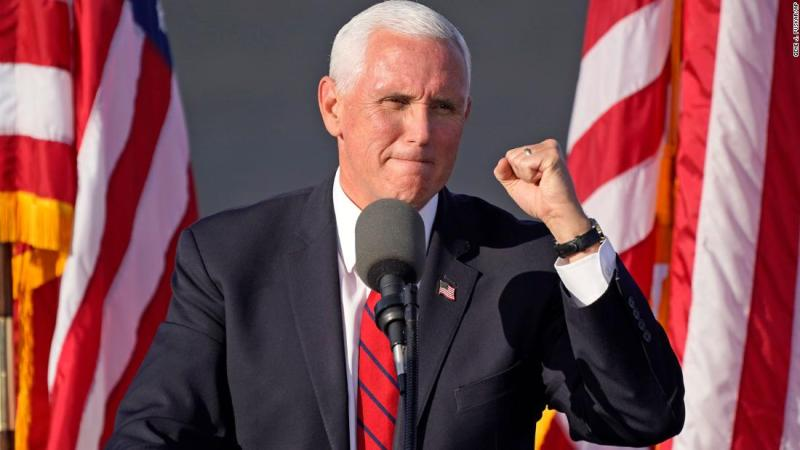 Pence skips public health recommended self-quarantine but does change plans after staff outbreak