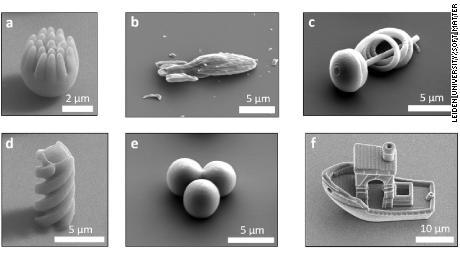 ผู้เชี่ยวชาญสร้างรูปทรงหลายรูปแบบรวมถึงทรงกลมที่แหลมคมยานเอนเตอร์ไพรส์ก้นหอยเกลียวทริมเมอร์และเรือ 3D Benchy