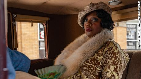 Viola Davis plays a blues singer in 'Ma Rainey's Black Bottom' (David Lee / Netflix)