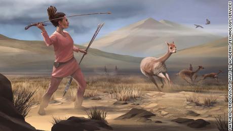อุทาหรณ์ของนักล่าหญิงที่อาจฆ่าสัตว์ใหญ่ในเทือกเขาแอนดีสเมื่อ 9,000 ปีก่อน