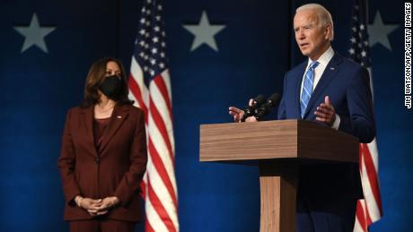 Biden says voters have given him a 'mandate for action'