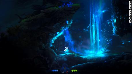 """""""Ori and the Will of the Wisps"""" on Xbox Series X."""