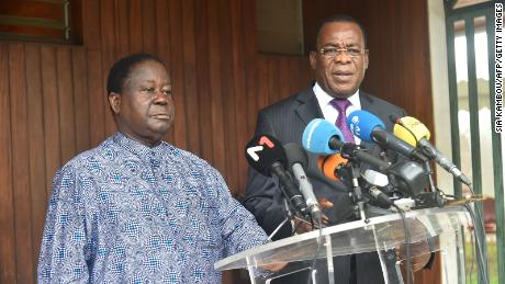 Ivory Coast opposition leaders face prison for forming rival government -- prosecutor