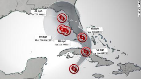 Tropical Storm Eta threatens Cuba and south Florida 3