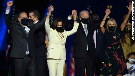 President-elect Joe Biden seeks to unite nation with victory speech