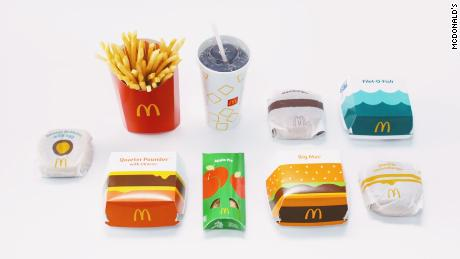 McDonald's will start rolling out new packaging over the next few years.